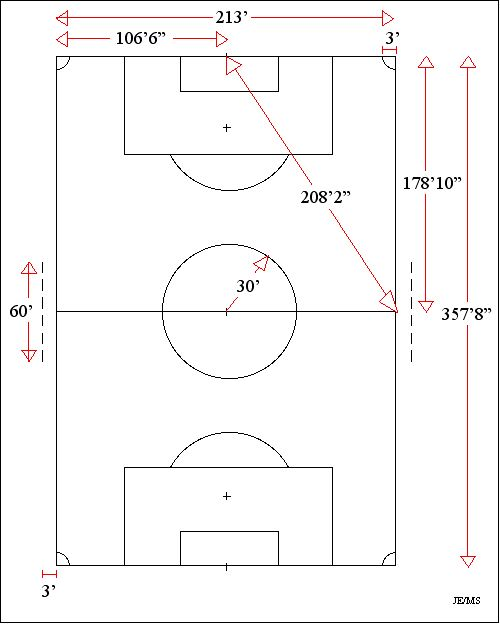 Soccer field 100x70 yards diagram soccer field 100x70 yards ccuart Gallery