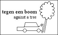 [a car smashed against a tree]