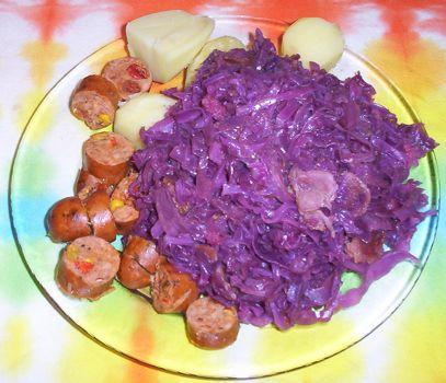 Dutch red cabbage recipe red cabbage sausage forumfinder Gallery