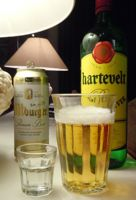 ['jenever' and beer]