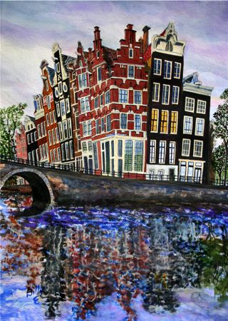[Amsterdam canal houses]