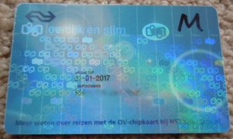 [electronic pass card for public transportation]