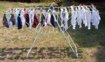 [rack for drying clothes]