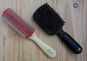 [two hairbrushes]
