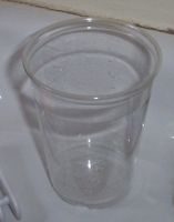 [a plastic cup]