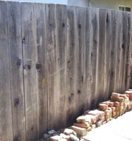 [wooden fence]