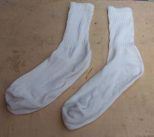 [a pair of socks]