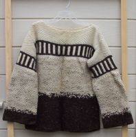 [a heavy wool sweater]