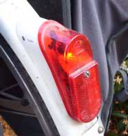 [bicycle back light]